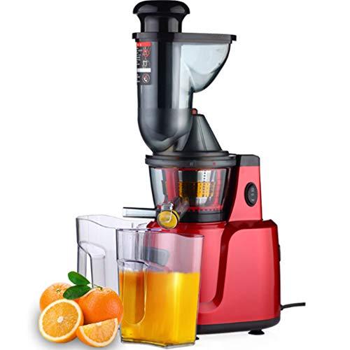 middle Licuadora Extractor Zumo - Libre PVC - BPA Free Prensado En Frio Cold Press Licuadora Exprimidor Naranjas Frutas,Materiales De Grado Alimenticio, Hélice Grande De 16 Mm,43 RPM