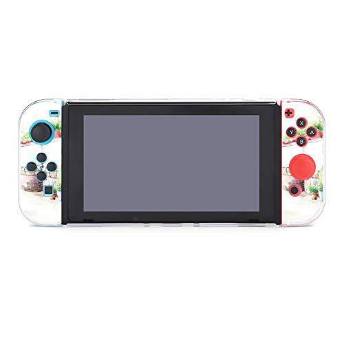 Schutzhülle für Nintendo Switch, Blumen / Kaffee, langlebige Schutzhülle für Nintendo Switch und Joy Con