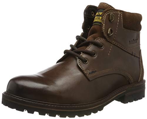 s.Oliver Herren 5-5-15211-23 Klassische Stiefel, Braun (Dark Brown 302), 43 EU
