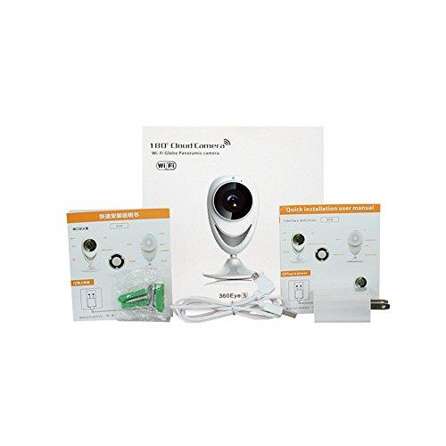 Cámara de vigilancia WiFi inalámbrica, 720P HD HD cámara IP Cámaras de visión nocturna IR / Soporte para IOS y Android / Bulit en micrófono de altavoces Cámara IP WiFi