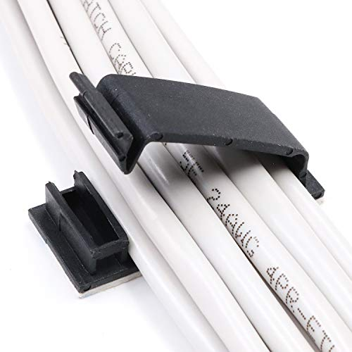 Cable Clips 3M Adhesive, Multipurpose Wi...