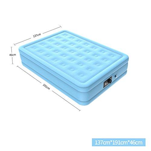 Why Choose LKJIM Air Bed, Household Flocking Air Mattress Outdoor Portable Comfort Air Cushion 137 1...