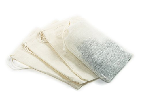 Norpro 5517 Cotton Brew Bags, 4 Pieces