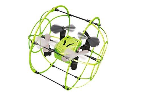 422023 Corix Turbo-Quadrocopter met rondom beschermende korf voor vlieg- en rijmodus, zelfstabiliserend en zelfoprichtend