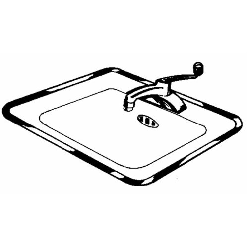 Vance Long Stainless Steel Sink Frame | Hudee Rim Ring for Kitchen or Bathroom Sinks | 21 x 32 inch | Corrosion Resistant
