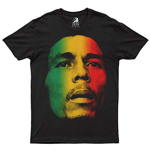 Bob Marley Face Heren T-shirt Official Licensed Merchart
