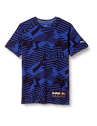 PUMA Herren T-Shirt RBR AOP Tee M Schwarz