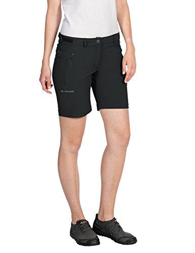 VAUDE Damen Hose Farley Stretch Short, Black, 38, 403810100380