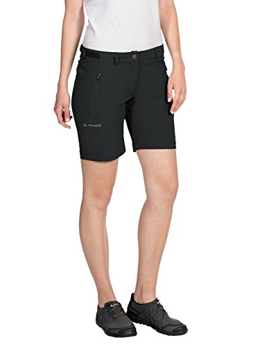 VAUDE Damen Hose Farley Stretch Short, Black, 42, 403810100420