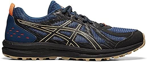 ASICS Men's Frequent Trail Running Shoes, 9.5, MAKO Blue/Black