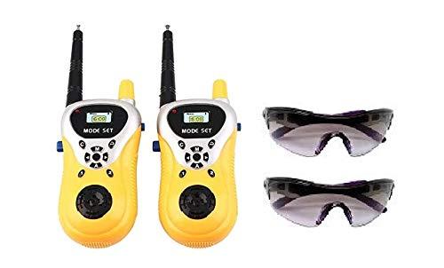 sbaprime Walkie Talkie Toys (Free 2 Sunglasses)