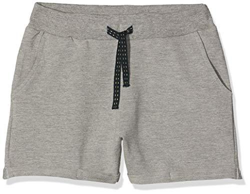 NAME IT NAME IT Mädchen Shorts NKFVOLTA SWE UNB NOOS, Grau (Grey Melange), (Herstellergröße: 140)