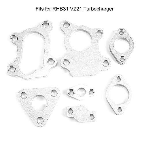 7 PCS Turbocharger Flange Kit Complete Set Fits for RHB31 VZ21