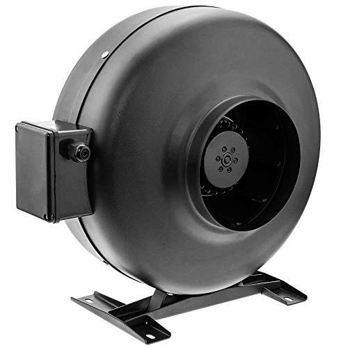 PrimeMatik - Rohr Ventilator für 150 mm Durchmesser. Inline Kanalauszieher für die industrielle Lüftung