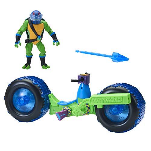 Rise of the Teenage Mutant Ninja Turtles Figura de acción de Leonardo Giant 82481 ROTMNT