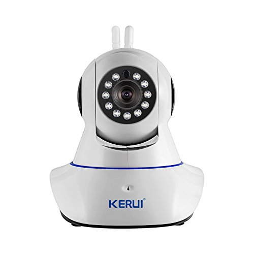 KERUI N62 WiFi Wireless 720p IP Camera Video Monitoring/Network Camera Surveillance/Video Security Camera/Home Security System, Baby Monitoring with APP