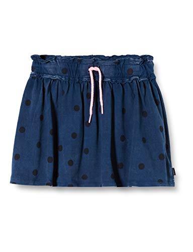 Noppies Mädchen G Skirt Mini Clovis Rock, Blau (Dress Blues P093), (Herstellergröße: 116)