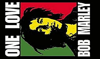 one love bob marley flag