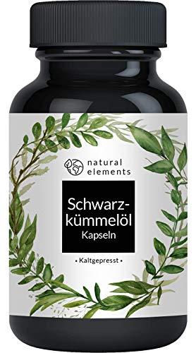 Schwarzkümmelöl - 400 Kapseln - 1000mg pro Tagesdosis - Ägyptisch, naturbelassen und kaltgepresst