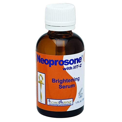 Neoprosone, Vitamin C Serum for Face | 1 Fl oz / 30ml | For Dark Circle, Wrinkles & Dark Spots, Hyperpigmentation Treatment | with Alpha Arbutin and Castor Oil