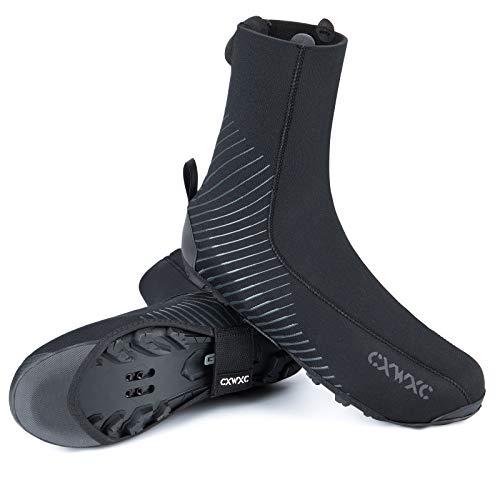 Cycling Shoe Covers Cold Weather for Men Women - Waterproof Shoe Covers Winter Outdoor Sports - Rain Cycling Overshoes, Road/Mountain Bike Booties