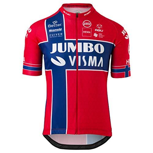 Replica Norwegischer Meister Trikot Team Jumbo Visma Herren