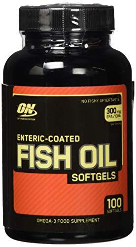 Enteric Coated Fish Oil Omega 3 Food Supplement 100 Softgels