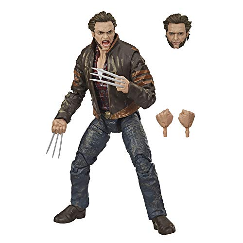 Marvel Legends Series - Wolverine (Action Figure 15 cm da Collezione, Design Eccezionale e 3 Accessori, Serie X-Men)
