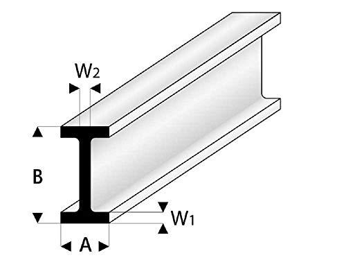 ASA Doppel-T-Profil 6x12x1000 mm