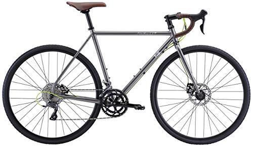 FUJI 2021年モデル FEATHER CX+ グラベルロードバイク 52 [700C クロモリフレーム ディスクブレーキ ブロッ...