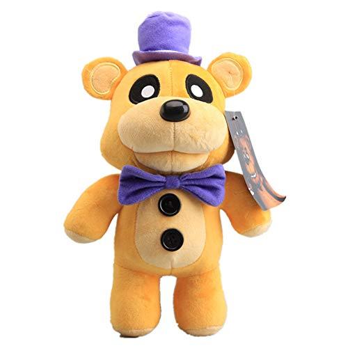 Five Nights At Freddy's FNAF Peluche Giocattoli Freddy Bear Foxy Chica Bonnie Morbida Bambola di Pezza Regalo per Bambini 30cm/B