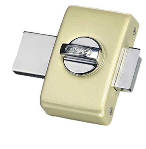 Abus 36960V B F2e–Cerrojo de botón sin cierre con llave/bodega champán