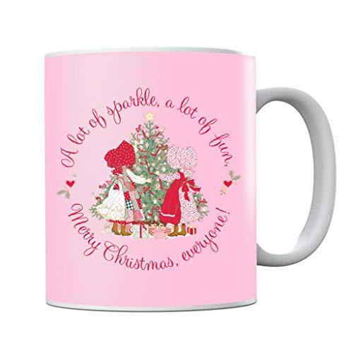 Holly Hobbie Christmas Sparkle and Fun Mug