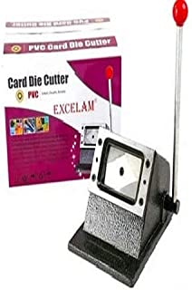 Top Print Excelam Photo ID Card and Die Cutter (Multicolour, Standard Size)