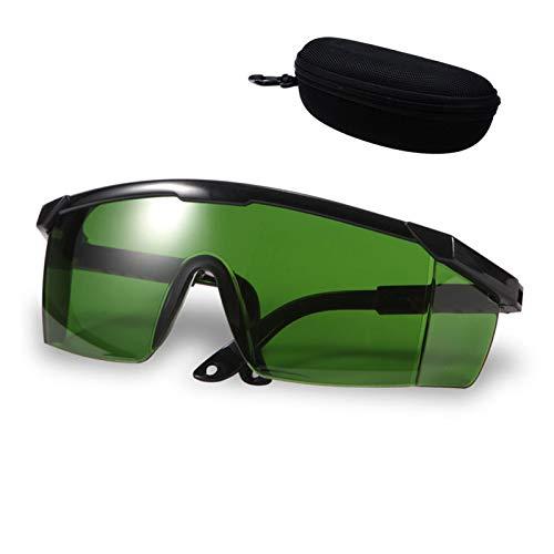 Augenschutzbrille, Alldo IPl Brille Schutzlaserbrille Laserschutzbrille, Laser Brille, Laser Schutzbrille, Beauty Equipment Brille mit 1-teiligem Brillenband für IPl Haarentferner Lasergravierer