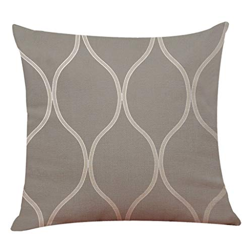 Line Pattern Pillowcase Linen Sofa Cushion Cover Home Decoration Pillowcase Home TextilesHome Textiles 4th of July Onsale