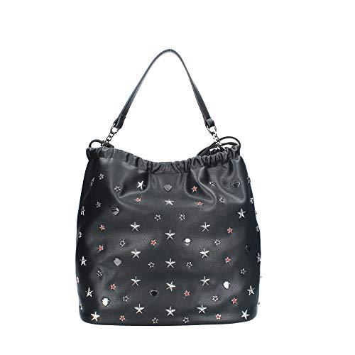 Le Pandorine Puff Bag Today BLACK