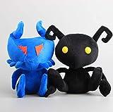 qwermz Peluche, 2pcs / Lot Kingdom Hearts Flood Shadow Ant Heartless Ant Peluche Suave Peluche Sofá Cojín Almohadas Muñecas De Peluche 11 8 Cm Niños Presentes
