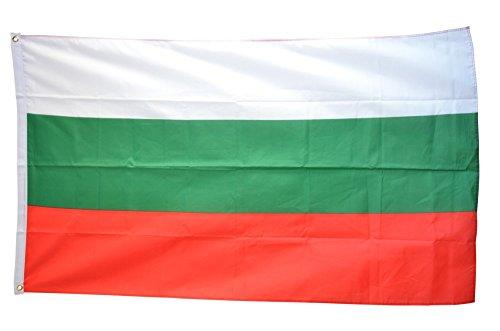 Flaggenfritze Fahne/Flagge Bulgarien + gratis Sticker
