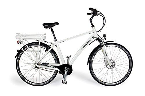 Provelo Herren E-Bike Elektrofahrrad / Fahrrad / Stadtrad, weiß, 7 Gang Nabenschaltung, Reifengröße: 71,1 cm (28 Zoll)