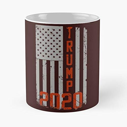 N\A Taza clásica Trump 2020 Gift Reelection For Supporter Election Day Idea, 11 oz.