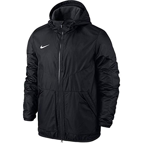 Nike Kinder Jacke Team Fall Jacket, Dark Obsidian/White, L