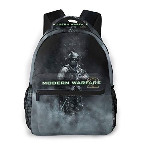 Unisex Casual Backpack Call of Duty-Modern-Warfare Travel Loptop Backpack School Bag Casual Backpack