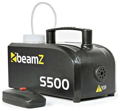 Beamz S500Nebelmaschine 500W 50m³ + 250ml Flüssigkeit