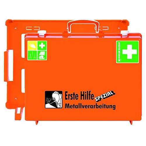 KAYSER GmbH 4000386032 - W. Soehngen Trabajo 0360108 Primeros Auxilios Kits de Base/Metal. 400X300X150Mm Sohngen Din13157