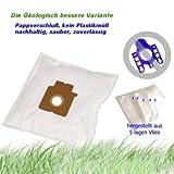 10 Staubsaugerbeutel geeignet für Panasonic MC CG463, MC CG 463