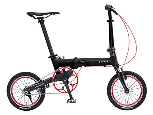ルノー(RENAULT) 軽量・コンパクト 7.5kg 14インチ エラストマサスペンション 折りたたみ自転車 ULTRA LIGH...