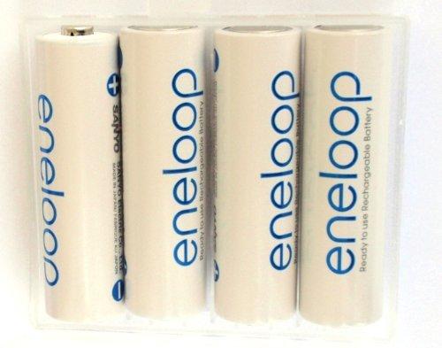Batteria Eneloop AA per Fotocamere digitali, videocamere, lettori CD portatili, lettore MP3 portatile, passi uomo, telecomandi, torce elettriche, PDA,