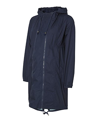 MAMALICIOUS Damen MLTIKKA Spring Coat Umstandsmantel, Blau (Navy Blazer), 40 (Herstellergröße: L)