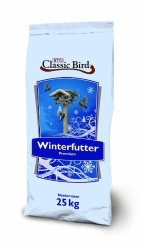 CLASSIC BIRD Vogelfutter Winterstreufutter 25 kg, Vogelfutter Wildvogel, Vogelfutter Sonnenblumenkerne, Vogelfutter Hirse, Winterstreu, ganzjahres Vogelfutter, Weizenflocken